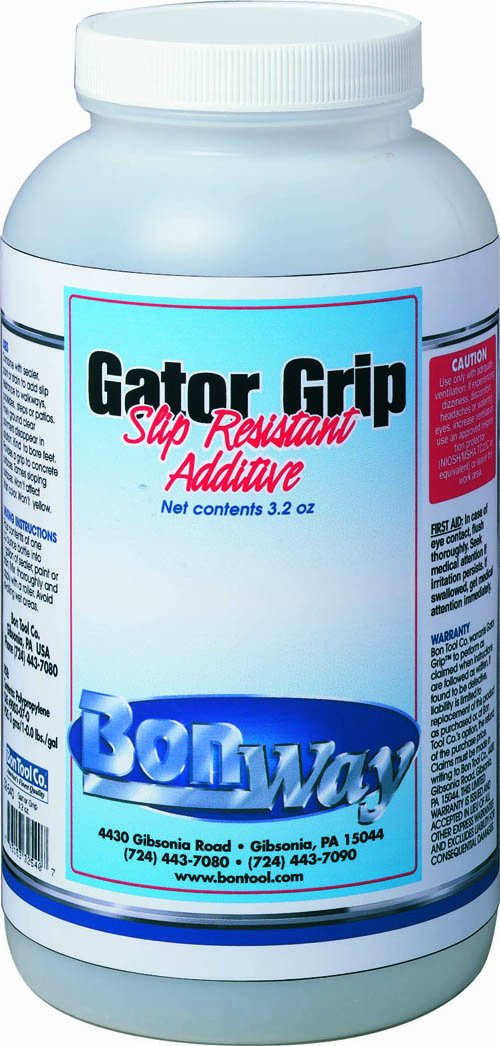 BonWay 32-540 Gator Grip Slip Resistant Additive for 1 Gallon