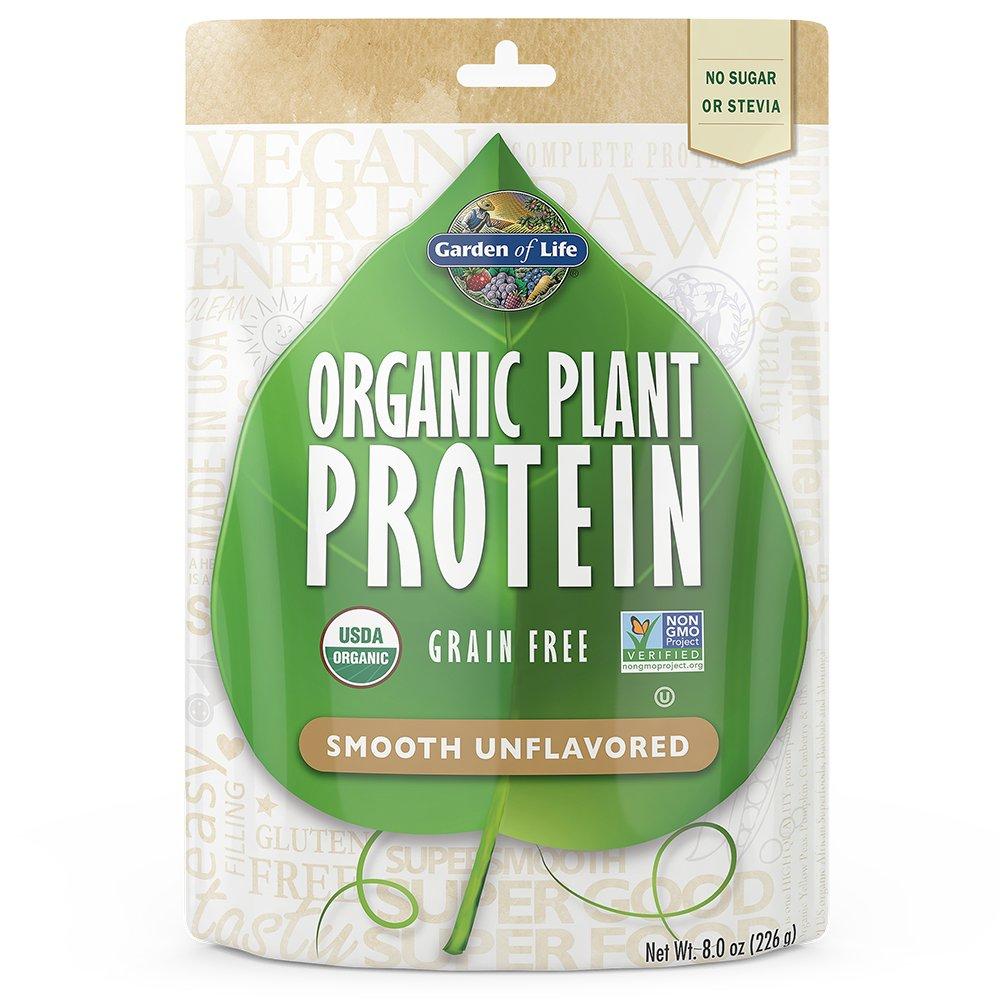Garden Of Life Organic Smooth Plant Protein Natural 226 Gram Ebay