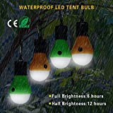 LED Camping Lights [4 Pack] Doukey Portable LED