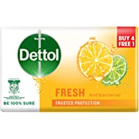 DETTOL BODY SOAP FRESH 100g 4+1