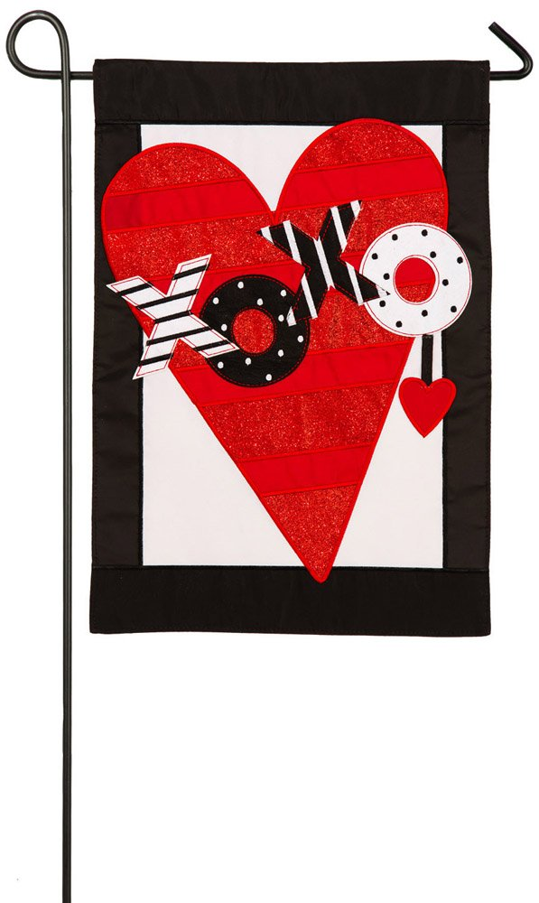 Captivating Amazon.com : Evergreen Valentineu0027s Heart Applique Garden Flag, 12.5 X 18  Inches : Garden U0026 Outdoor