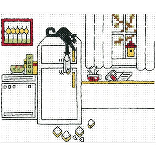 I2979 Carbo Kitty Counted Cross Stitch Kit-4.5