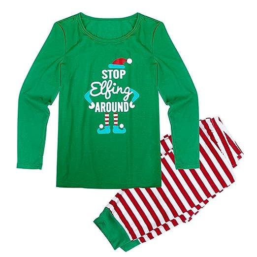 SMARTLADY Familia Navidad Pijama para - Madre - Padre - Niños -Bebe (S, papá): Amazon.es: Ropa y accesorios
