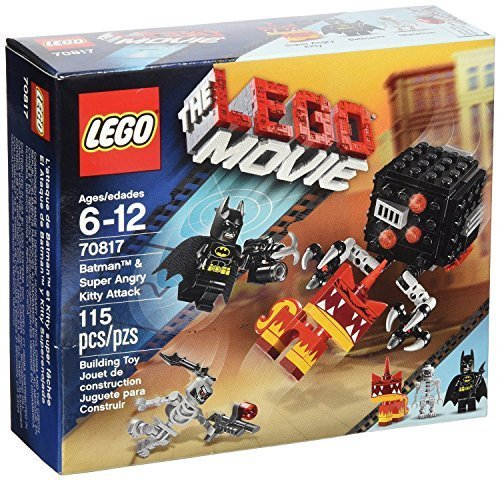 LEGO Movie Superhero Batman and Super Angry (115pcs) Figures Building Block Toys - 4