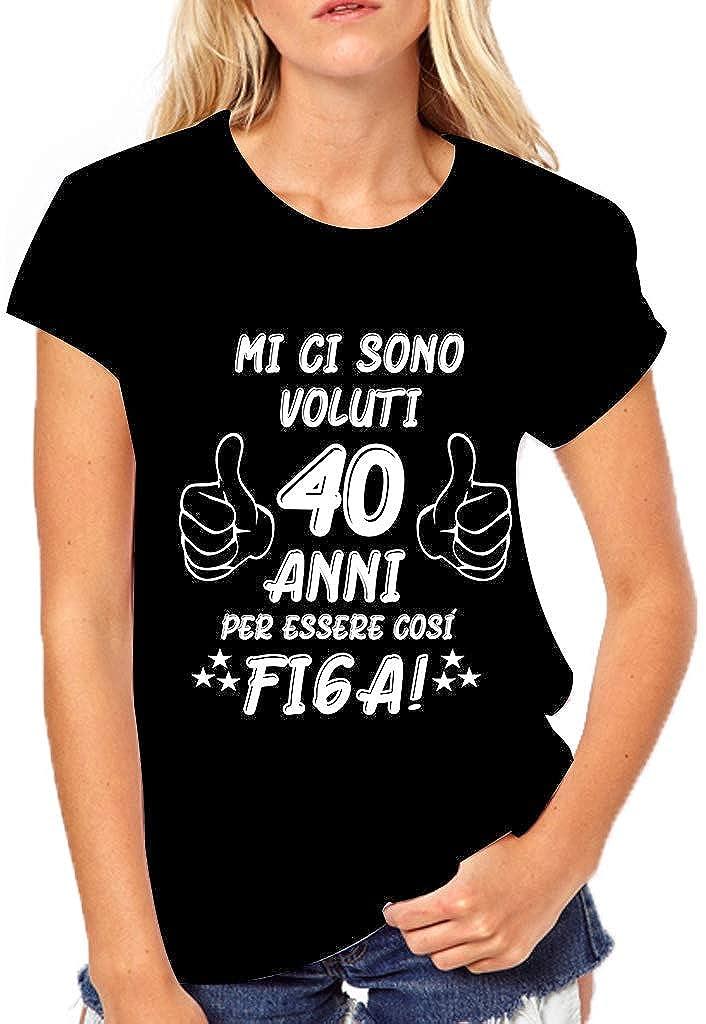 Puzzletee - Camiseta de cumpleaños para Mujer - Mi Ci Sono ...