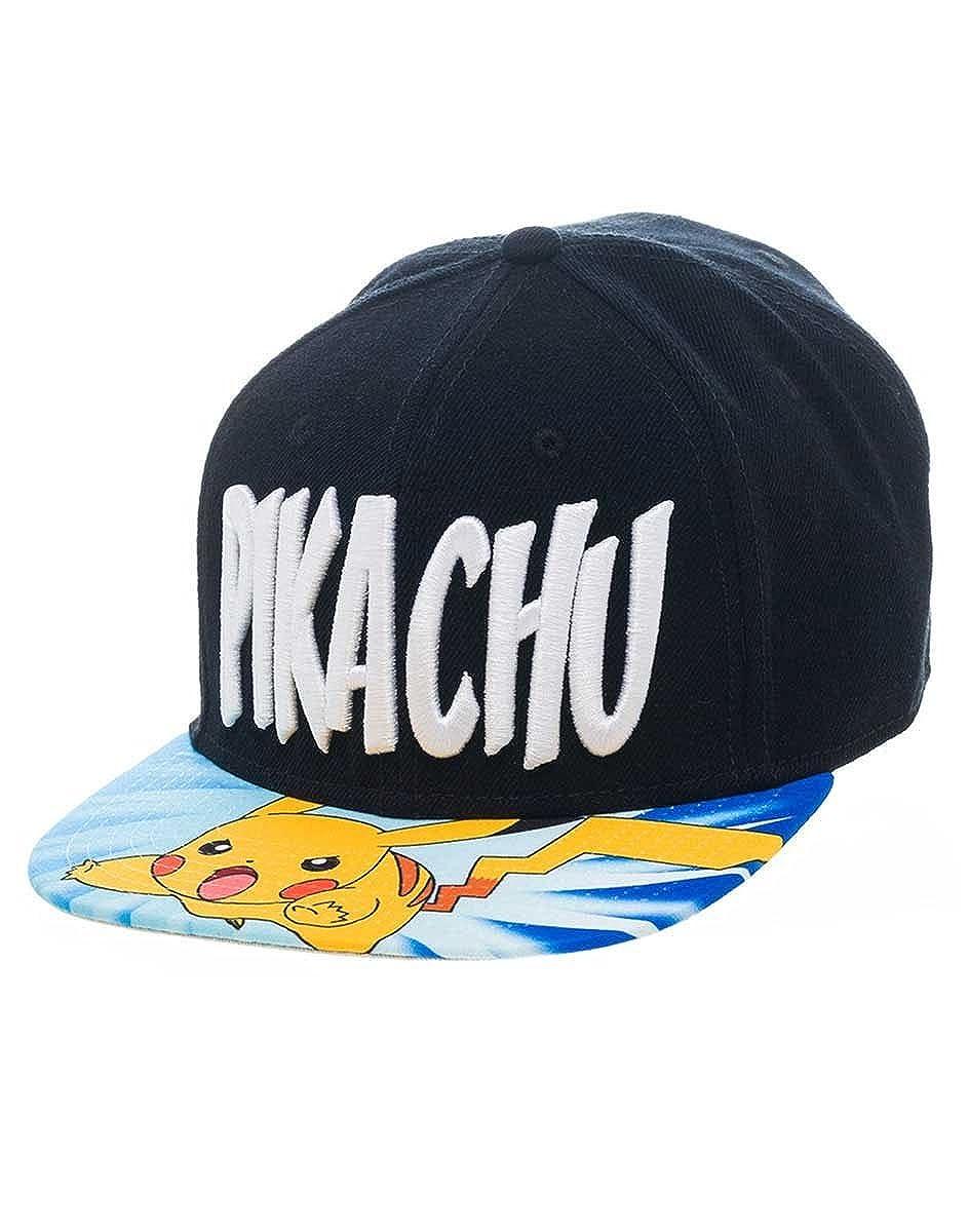 Pokemon Snap Back Cappello Baseball Cappello Lightning Pikachu