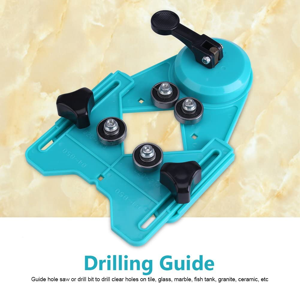 Drill Bit Guide Hole Locator Upgraded Carpenters for Craftsmen Handymen Builders