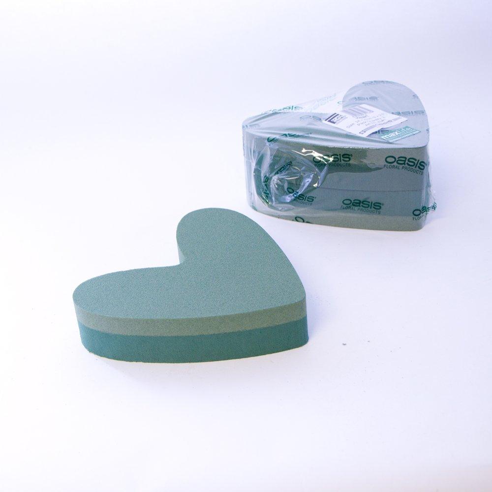Confezione da 2 Oasis schiuma floreale a forma di cuore con cornici 22, 86 cm Smithers Oasis 8341