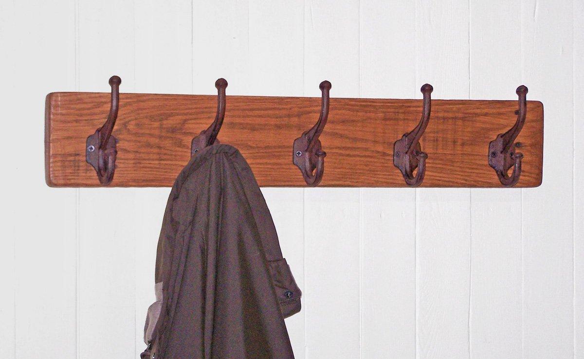 Amazon.com: Alpine Craft Works perchero de madera para ...