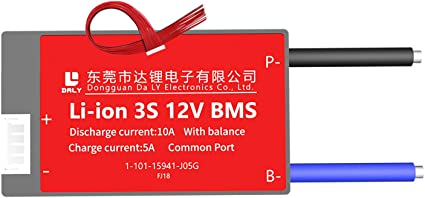3S BMS Li-ion 10A-60A 12V 18650 Balance Board PCB Battery Protection