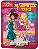 T.S. Shure Fashion-A-Belles Glamour Magnetic Tin Playset