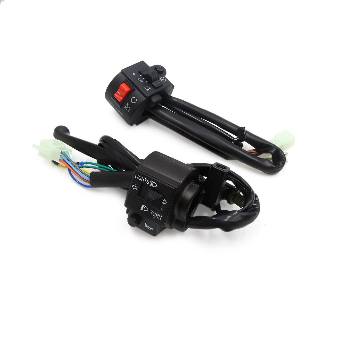 Uxcell a17071300ux0103 Motorcycle Switch 2 Pack