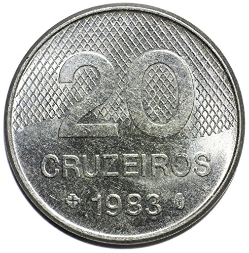 1983 BR Brazil 20 Cruzeiros Cruzeiros Very Good