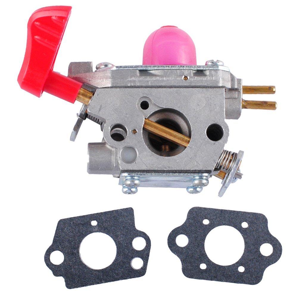 Wadoy 545081857 Carburetor Kit for Poulan VS-2 BVM200FE Leaf Blower,Craftsman, Weedeater, Poulan trimmer, Zama C1U-W43