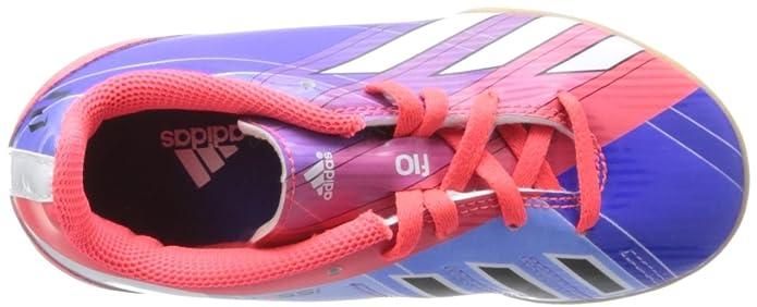 adidas Zapatilla Jr F10 IN Messi Turbo-Purple, TURBO/BLACK1, 4 UK