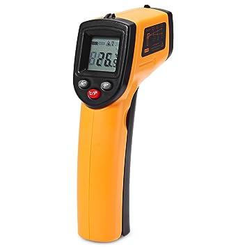 Amody Termómetro infrarrojo para el Agua Caliente Tuberías de Superficie de Cocción Las Piezas del Motor: Amazon.es: Hogar