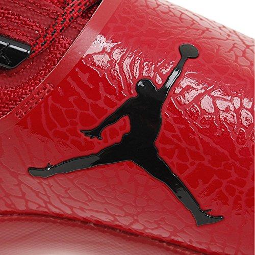 Jordan Sneakers Uomo Super 5 Rosso Pelle Mesh Po Fly AwpAx0zrqO
