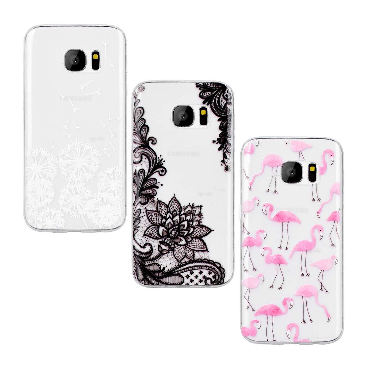 Yokata [3 Packs Funda Samsung Galaxy S7 Carcasa Silicona ...