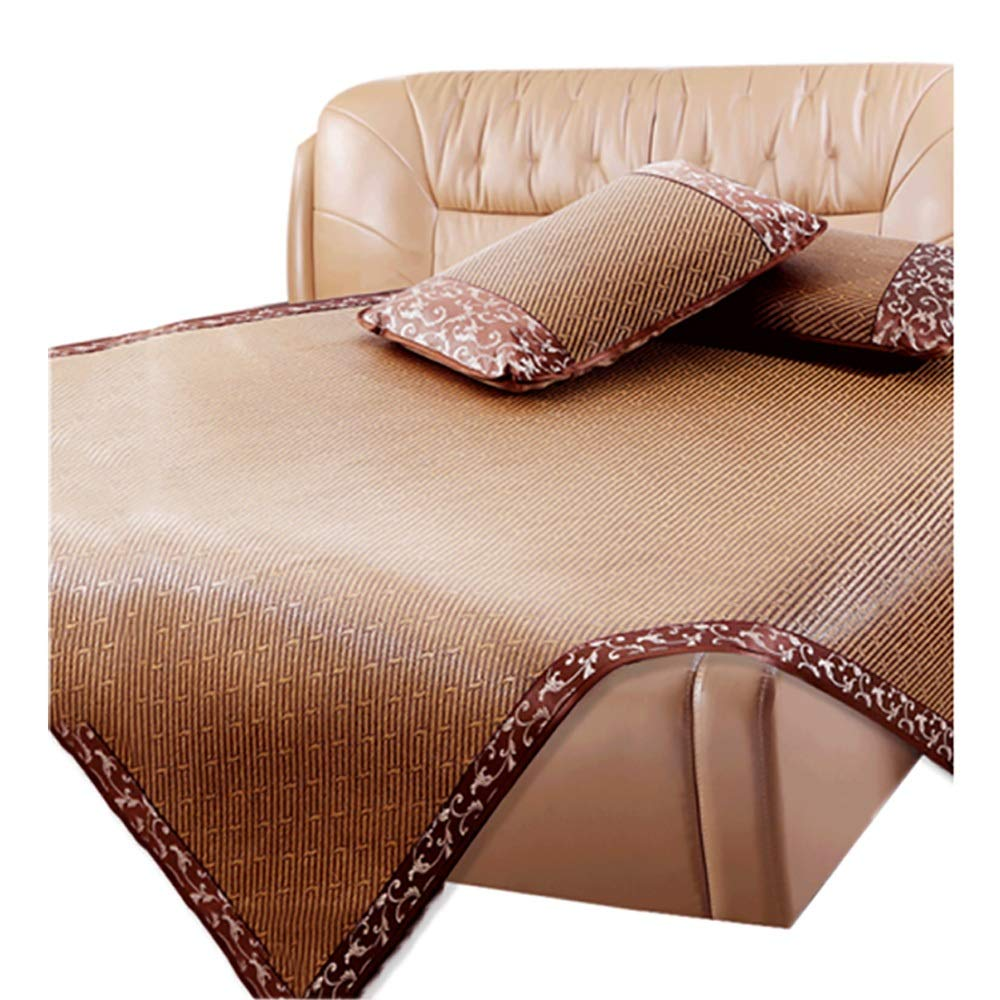 サマーマット - ラタンマット - アイスシルクマット - クールスリーピングマット - 寝具 - 折りたたみ式 - スムースバー (Size : 1.2m1.95m/47.2x76.8in) B07T4WDWZG  1.2m1.95m/47.2x76.8in