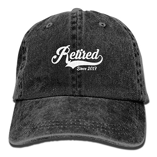 Retired Since 2017 Cotton Adjustable Cowboy Cap Trucker Cap Forman and Woman]()
