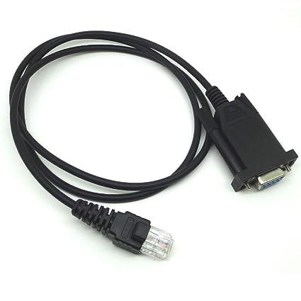 Amazon com: COM Programming Cable for Motorola Radios CDM750