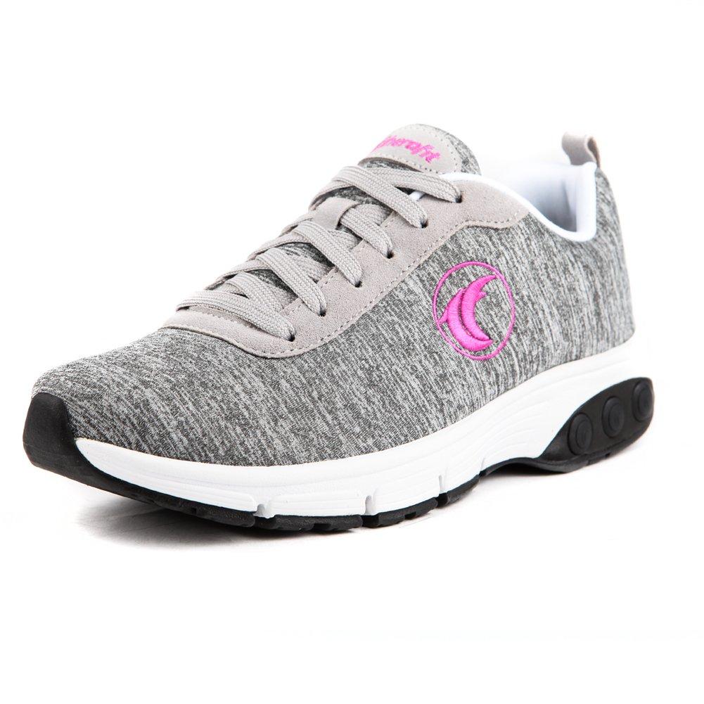 Therafit Shoe Women's Paloma 's Fashion Athletic Shoe B01G34UFMO 8.5 B(M) US|Grey