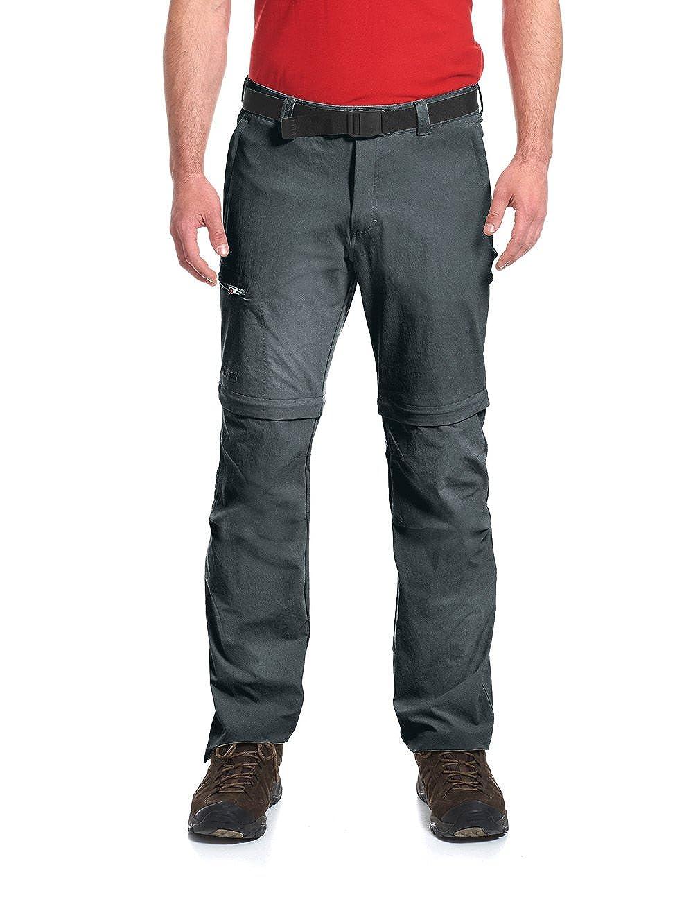 TALLA 52. Maier Sports Zipp, Pantalones de Senderismo para Hombre