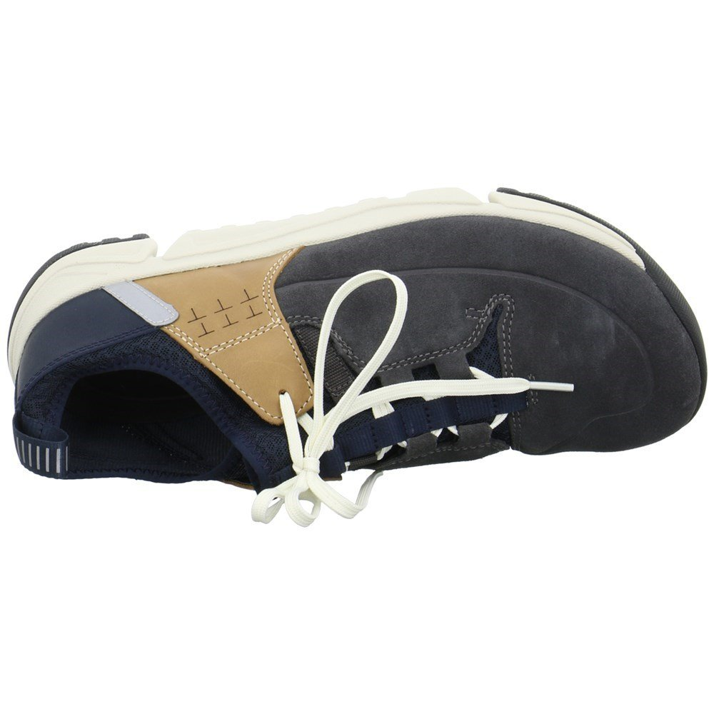28a3cd0c8445a Clarks Tri Track Lo Leather Shoes In Standard Fit Size 9½: Amazon.co.uk:  Shoes & Bags