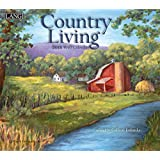 """Lang Wall Calendar """"Country Living"""" Artwork By Colleen Eubanks-12 Month-Open 13 3/8"""" X 24"""""""