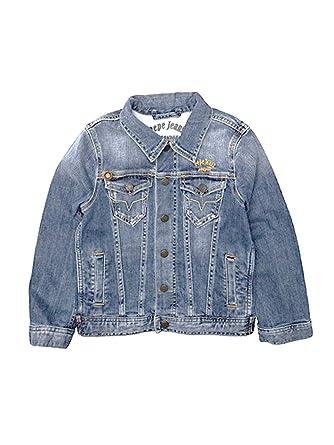 5fe2ff1b86d0 Pepe Jeans Blouson - Garçon bleu Indigo  Amazon.fr  Vêtements et ...