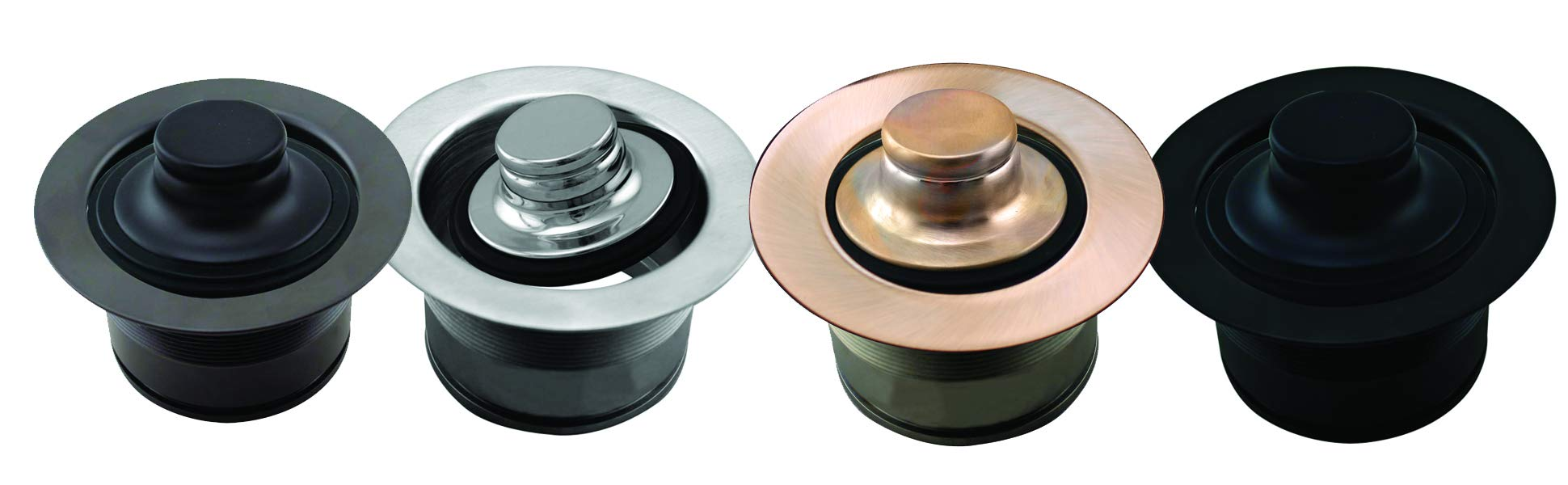 Westbrass D2105-62 EZ Mount Disposal Flange and Stopper, Matte Black by Westbrass (Image #4)