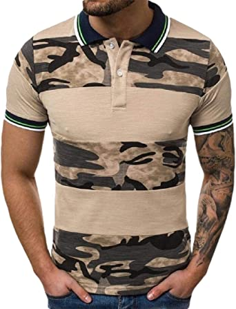 dahuo - Polo para Hombre, diseño de Camuflaje 1 L: Amazon.es: Ropa ...