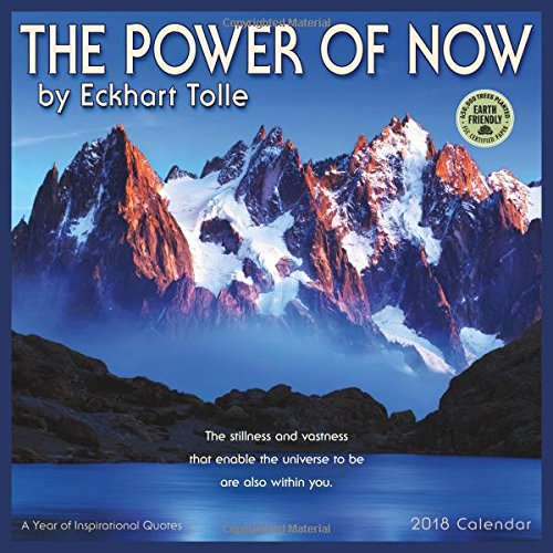 The Power of Now 2018 Wall Calendar: A Year of Inspirational Quotes