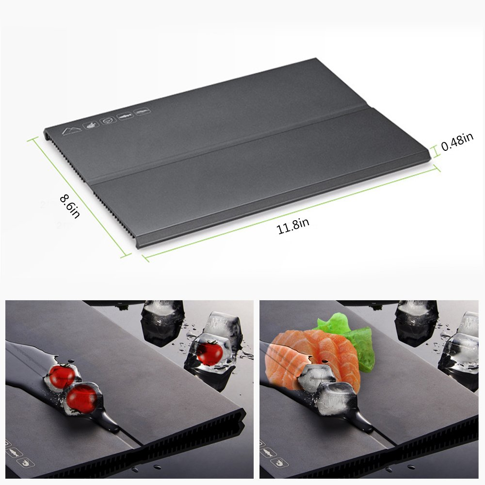 Thawing Board Defrosting Plate Cooling Tray,Thawing All Meat Products Quickly and Naturally,Naturally Cooling All Foods,Hot Water,Hot Beverages,Maintaining the Original Flavor of the Ingredients