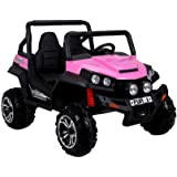 2 Seater Newest 4X4 Big 12V UTV Eva Edition Style 4x4 Child's Electric Ride On with RC