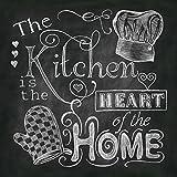 Beautiful, Fun, Chalkboard-Style Kitchen