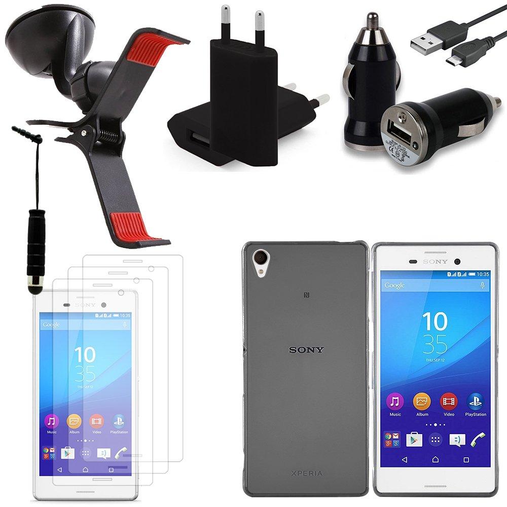 Vcomp® Sony Xperia M4 Aqua/M4 Aqua Dual: Lot funda funda carcasa ...