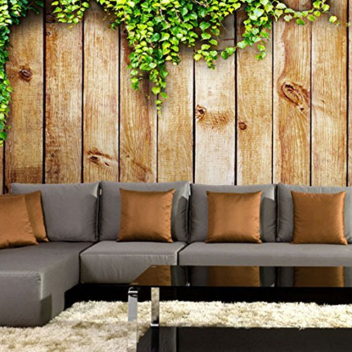 Back Photo Movie (Sproud Custom 3D Photo New Three-Dimensional Retro Wood Large Mural Wooden Bedroom Living Room Tv Backdrop Movie Wallpaper 3Dwall Paper 250Cmx175Cm)