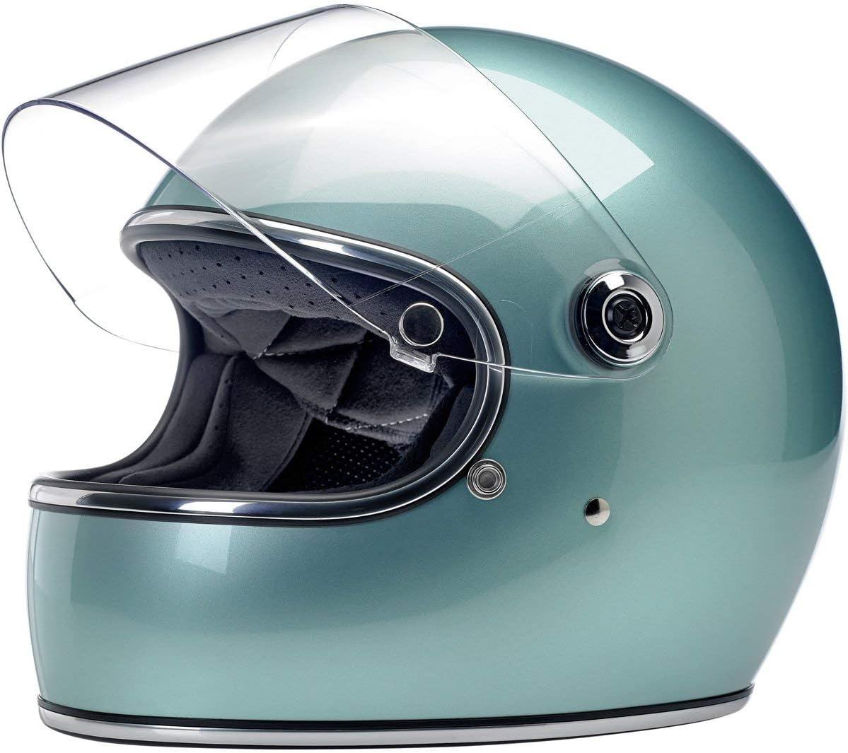 Europa America Integralhelm Biltwell Gringo S Schwarz gl/änzend Gloss Black Spectrum zugelassen Doppelt zugelassen ECE Helmet Biker Custom Vintage Retro Anno 70 Gr/ö/ße XL /& DOT