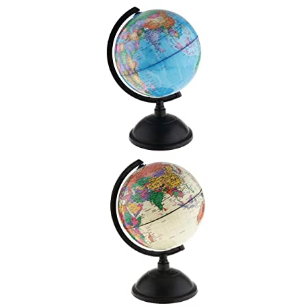 Fenteer 2 Unidades. Hucha con Forma de balón del Mundo: Amazon.es ...