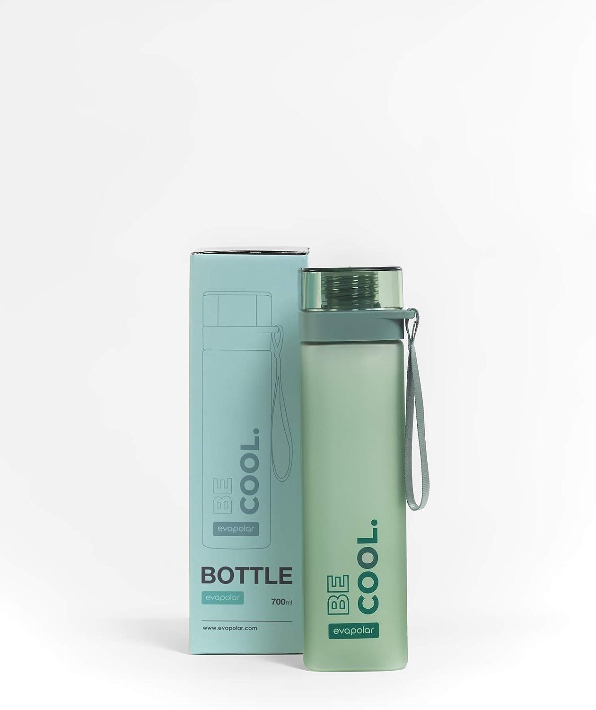 BPA Free Leak Proof Water Bottle Tritan Plastic Evapolar evaBOTTLE 24oz 0.7L
