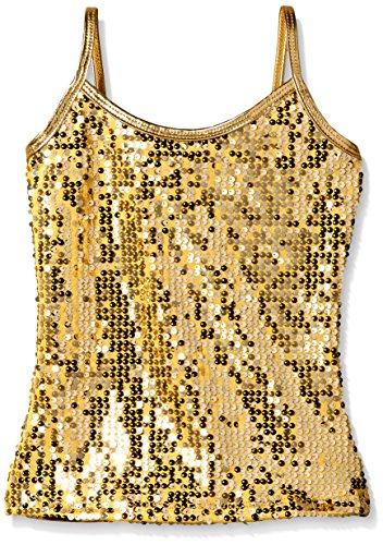 Girls Gold Sequin - 6