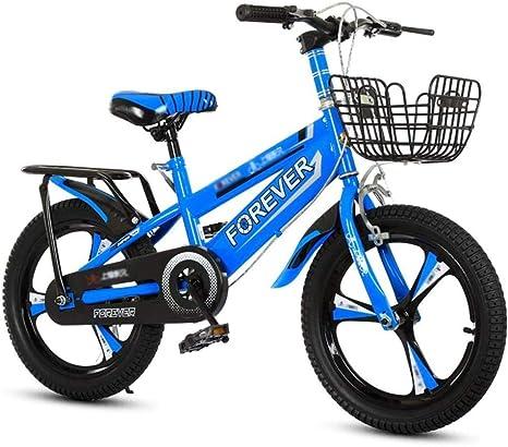 XXCZB Bicicletas Niños Bicicleta de Ejercicio en Interiores Pedal Infantil Bicicleta Niño Niño Bicicleta 3~12 años Bicicleta para niños Adecuado para niños (Color: Verde)-12 Pulgadas_Azul: Amazon.es: Deportes y aire libre