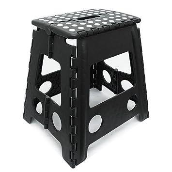 Folding Step Stool Steel Multi Purpose Home Kitchen Foldable Easy Storage New