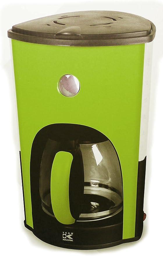 Team Kalorik TKG CM 1008 – Cafetera de goteo en verde manzana: Amazon.es: Hogar