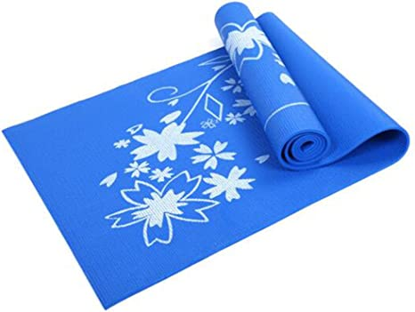 Yoga Pilates Fitness  Printed Natural Rubber Mat