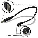 EXINOZ Power Cable for Roku Streaming Stick. Roku