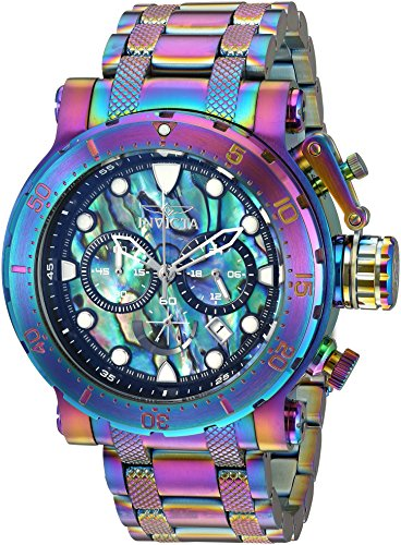 Invicta Men's Coalition Forces Quartz Watch with Stainless-Steel Strap, Multi, 26 (Model: 26507)