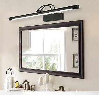 ALUK  American Retro Black Mirror Scheinwerfer Badezimmer Spiegel Kabinett Licht  LED Spiegelleuchten