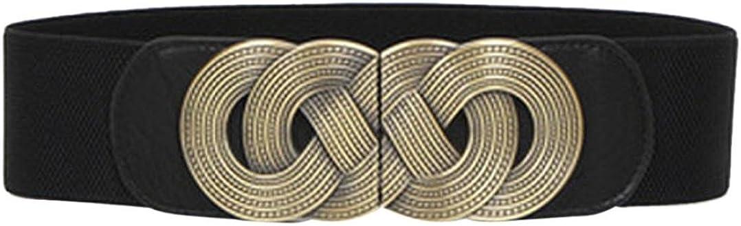 Toraway Belts, Ms Fashion Decoration Elastic Waist Belts
